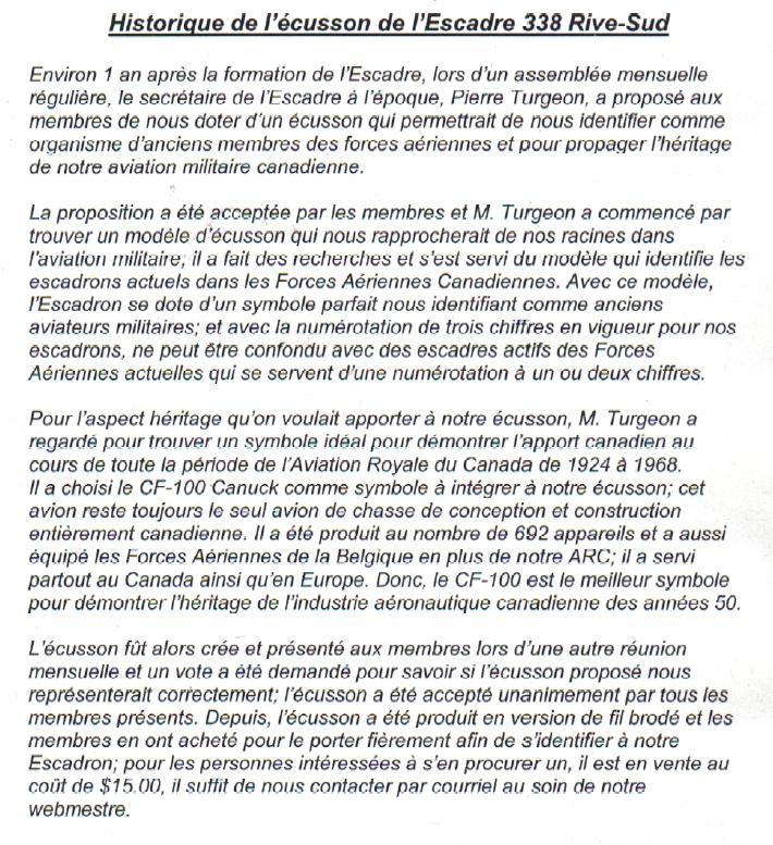 Ecusson 338 fr. hist.